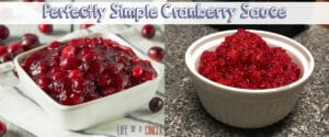 Perfectly Simple Cranberry Sauce