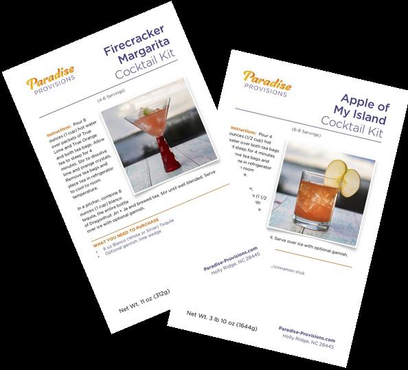 Paradise Provisions Cocktail Kits