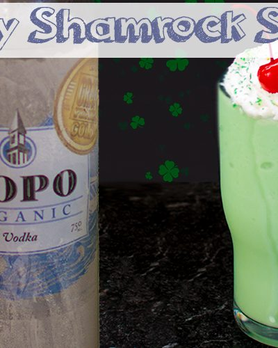 Boozy Shamrock Shake - Adults Only St. Patrick's Day Treat