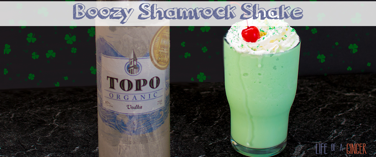 Boozy Shamrock Shake – Adults Only St. Patrick's Day Treat