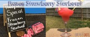 Frozen Strawberry Starburst - Life of a Ginger