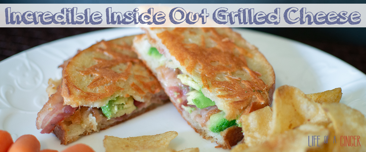 Incredible Inside Out Grilled Cheese