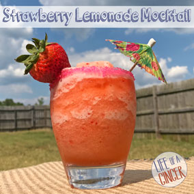 Strawberry Lemonade Mocktail - Kid-friendly Refreshment