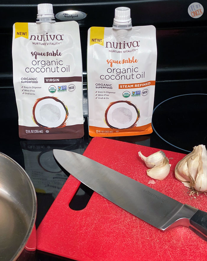 Squeezable Organic Coconut Oil from Nutiva
