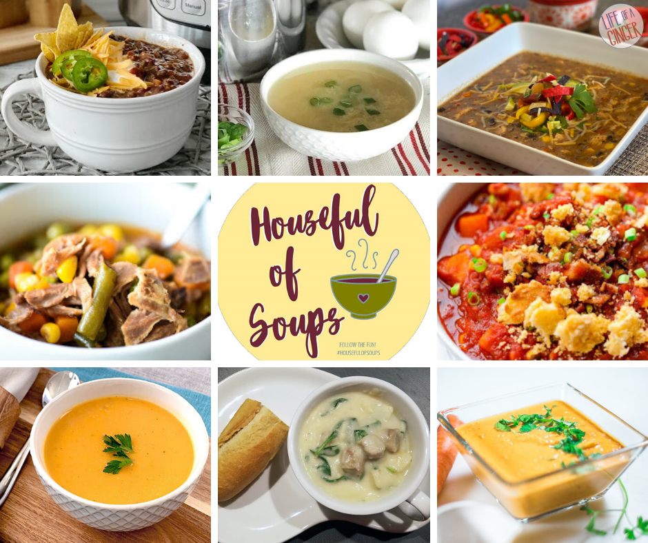 Houseful of Soups Blog Hop. #HousefulOfSoups
