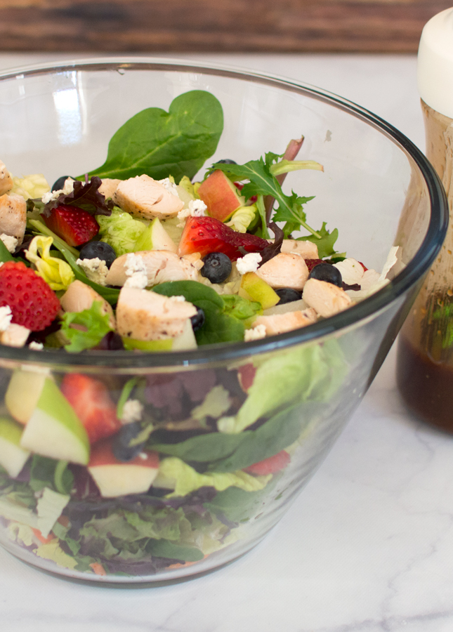 Copycat Chick-fil-A Market Salad Featuring The Produce Box