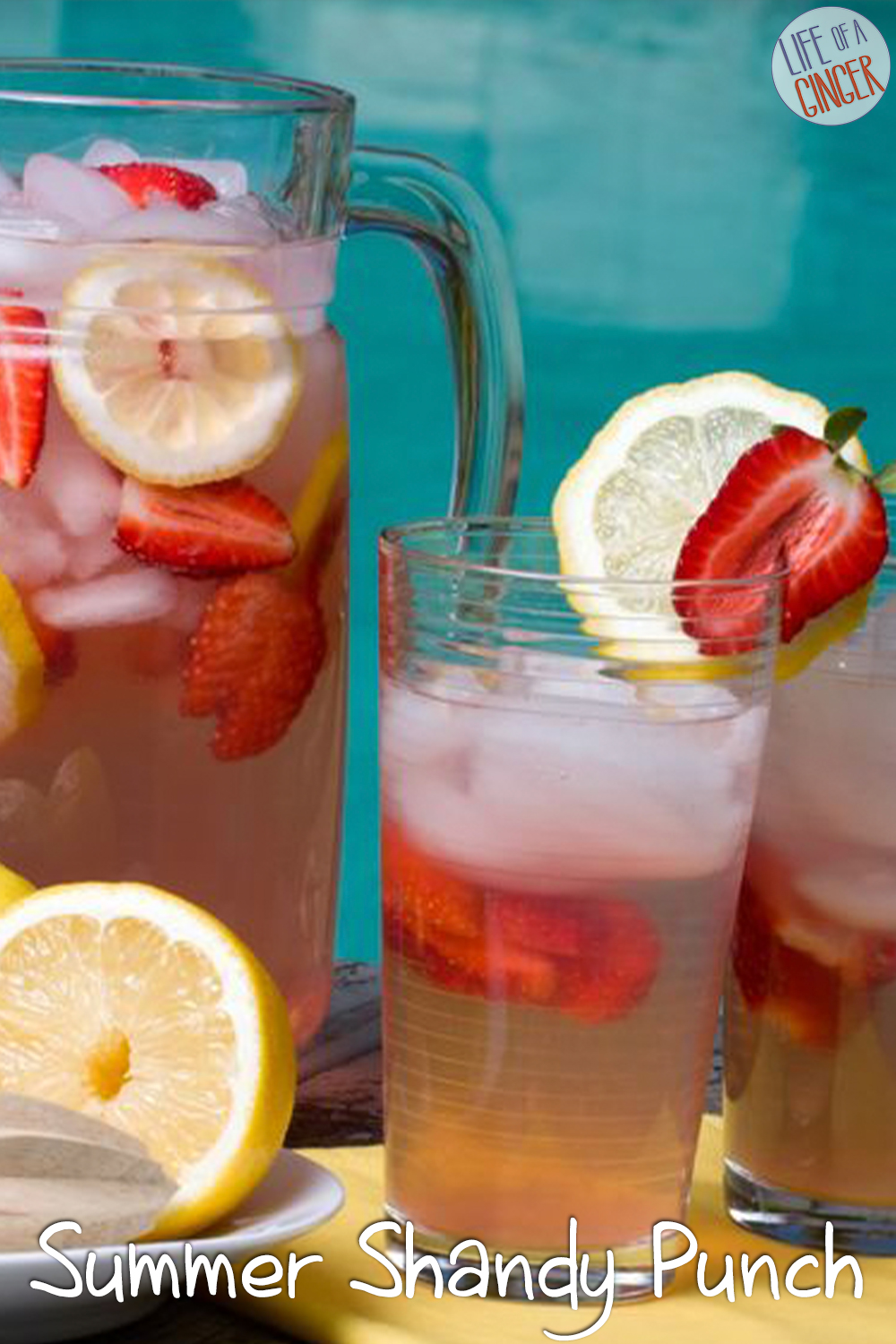 Summer Shandy Punch