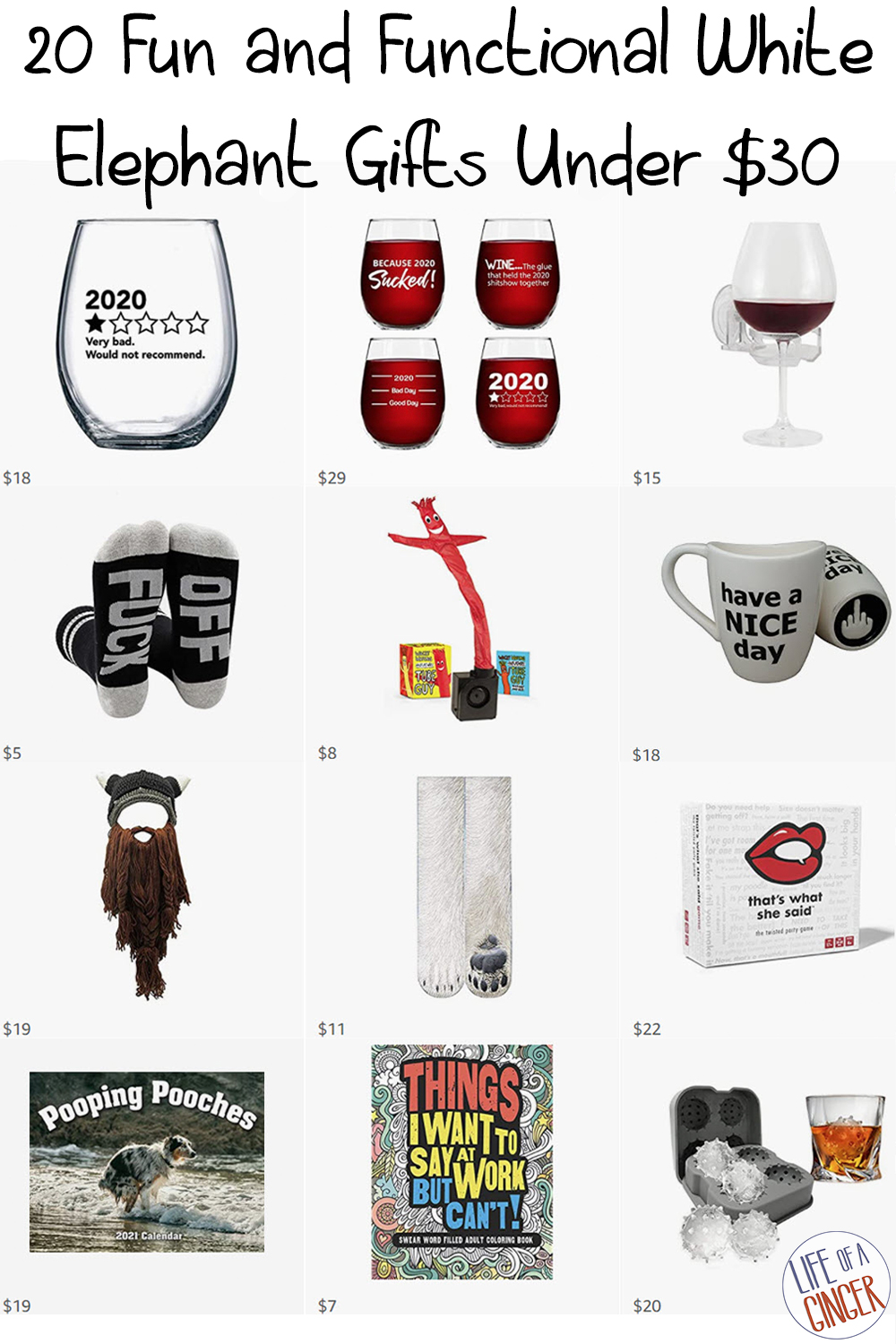 20 Fun and Functional White Elephant Gifts Under $30